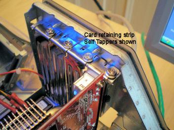 MAC - PC PCI card retaining strip