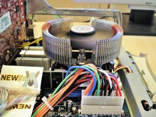 MAC - PC Zalman CPU Fan Installed